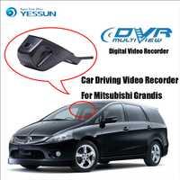 YESSUN HD 1080 P coche DVR grabadora de vídeo de conducción Digital para Mitsubishi Grandis-cámara frontal