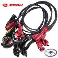 ZOOM HB875 bicicleta de freno de disco hidráulico frontal de 800mm 1400mm montaña freno de disco de bicicleta