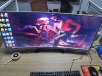 Original nuevo curvado panel LCD M350DVR01.0 2 K y 144Hz y 2000R con HDMI y DisplayProt controlador para DIY Acer Z35 juego PUBG LOL