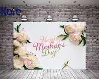Kate 5X7FT Feliz Día de la madre telón de fondo los quince flores Simple estudio telón de fondo para la familia para foto