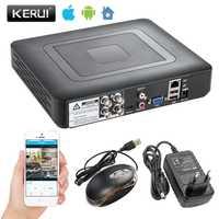 Cámara sistema de seguridad 4/8 canales DVR 1080N AHD Sistema de Vigilancia de la casa para 1080N CCTV DVR seguridad Kit cámara VGA HDMI H.264