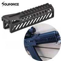 6,5 pulgadas Tactical Rail Gun sistema GripExtend Picatinny Rail Handguard para AK47 b10 visores caza tiro