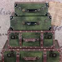 ¡Estilo Retro de la Nostalgia caliente! bolso de embarque de cuero PU equipaje de madera de alta capacidad bolsos de viaje para mujeres y hombres bolsos