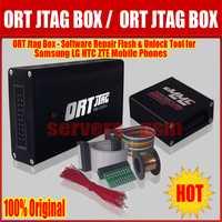 Lo más nuevo de 100% Original ORT JTAG BOX y eMMC Booster-Software de reparación Flash y herramienta de desbloqueo para Samsung LG HTC ZTE Mobile