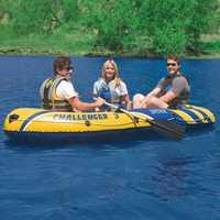 INTEX 68370 3 persona inflable bote de remos engrosada de barco de pesca de Material de PVC de goma profesional barco