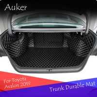Tapis de coffre de voiture arrière tapis de démarrage durables couverture complète protection de voiture style pour Toyota Avalon 2019