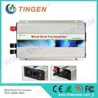 Energía Eólica sinusoidal pura DC onda 48 V a AC 100 V inversor de la rejilla 300 vatios