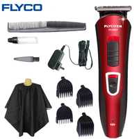 FLYCO profesional Hair Clipper pelo Trimmer Shaver hogar cortapelos eléctrico adulto Haircut Styling Tools FC5807
