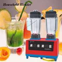 2400 W de doble cabeza trituradora de hielo alimentos eléctrico mezclador/licuadora comercial frutas/DE/máquina de mezcla CS-8800D