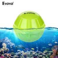 Eyoyo E1 buscador de peces sonar para pesca Bluetooth de profundidad inalámbrica inteligente de pesca de detección de eco sirena más profundo buscador de peces IOS Android