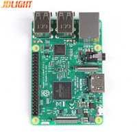 Nuevo Original Raspberry Pi 3 Modelo B Pi3 B 1 GB RAM LPDDR2 Quad-Core Wifi Bluetooth de calor el adaptador de corriente caso ventilador de refrigeración