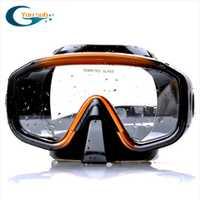 Qualité supérieure Silicone Plongée masque de plongée Seule Fenêtre Professionnel Plongée En Apnée Chasse Sous-Marine Masque Livraison Gratuite YM138