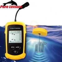 Sonar de pez PureLeisure 2 pulgadas Sondeur Peche Outlife buscador de peces Sunvisor buscador de pesca alarma Sonar profundidad sirena FF03