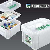 Portátil fudogiken GRAN KIT de primeros auxilios caja de la medicina caja sin drogas