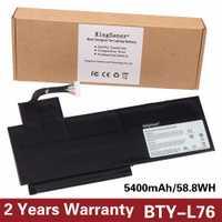 KingSener nuevo BTY-L76 batería para portátil MSI GS70 MS-1771 1772 1774 GS72 WS72 XMG C703 S4217T MD98543 BTY-L76 11,1 V 5400 Mah