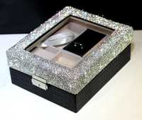 Anillo de boda caja cajas de reloj de joyas caja de regalo cajas de almacenamiento de regalos de boda