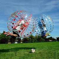 Livraison gratuite 1.2 m 1.5 m 1.7 m humain gonflable bulle ballon de Football gonflable balle pare-chocs gonflable Zorb balle bulle Football