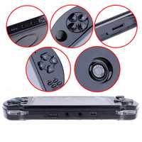 1 Unidades 4.3in consola de juegos portátil REPRODUCTOR DE MP5 juego + Cable de datos + auriculares construido en 1000 juegos 32bit 8g Video juego