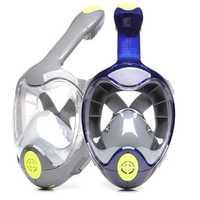 Nueva Scuba máscara de buceo Anti-niebla impermeable natación Snorkel Anti-derrame buceo máscaras de buceo GoPro soporte
