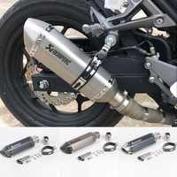 Envío Gratis akrapovic de escape moto rcycle silenciador de escape moto con db asesino sistemas de escape para honda benelli msx125 nmax EP01