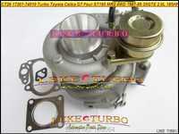 Envío Gratis CT26 17201-74010, 17201, 74010, 1720174010 Turbo para TOYOTA Celica GT cuatro ST165 4WD 1987-89 3S-GTE 3 SGTE 3SG 2.0L 185HP
