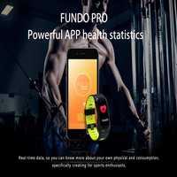 Fascinante deportes wristband sangre oxígeno monitor de ritmo cardíaco presión arterial pulsera inteligente sleep monitor fitness banda F4