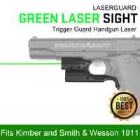 CANIS LATRANS láser verde vista gatillo pistola láser Para 1911 OS20-0041