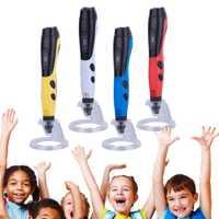Nueva caliente 3D pluma con pantalla LCD con 5 M 1,75mm PLA filamento regalo perfecto para niños adultos 8 @ 88