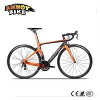 Twitter Super Light Aleación De Aluminio 22 Velocidad Mango Romper el Viento de Carbono Marco de la Bici DEL Camino 700C