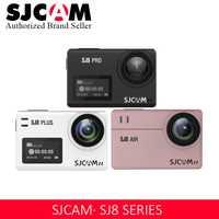 Promoción SJCAM 4 K Cámara de Acción WIFI Control remoto impermeable deportes DV SJ8 serie SJ8Air/SJ8Plus/SJ8Pro 1290 P de acción C