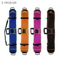 135-155 cm Snowboard esquís bolsa única bolsa resistente a los arañazos placa Monoboard funda protectora multicolor opcional hombro Doble