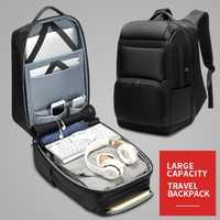 Los hombres de carga USB 17 pulgadas portátil mochila impermeable gran capacidad Multi-Bolsillo de alta capacidad hombres mochilas Casual bolsa de viaje