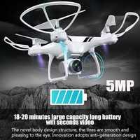 KY101S RC Drone con Wifi FPV HD cámara de altitud una tecla retorno/aterrizaje fuera sin cabeza RC quadcopter Drone