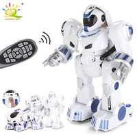 Deformación RC Robot inteligente Electronic Dance conducción inteligente Control remoto inalámbrico juguetes distorsión interactuar con los niños