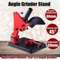 Amoladora de ángulo accesorios amoladora de ángulo de herramienta para trabajar la madera DIY de soporte de apoyo Dremel herramientas Accesorios