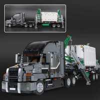 Educativos 20076 nueva técnica de la serie Mack camión grande conjunto de bloques de construcción ladrillos educativos LegoINGlys 42078 para niños regalos