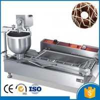 Pequeña máquina de hacer rosquillas de acero inoxidable de alto rendimiento, máquina de hacer rosquillas