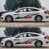 Pájaro de Fuego decoración auto decoración pegatina coche estilo lado colocar pegatinas de vinilo y calcomanías para FORD/BMW/BENZ/HONDA/KIA CEED vendo KIA RIO