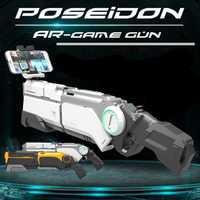AR Pistola neumática niños juguetes pistola Airsoft armas Bluetooth teléfono celular soporte multijugador remoto batalla juego de detección