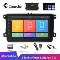 Camecho Android 8,1 coche radio 8