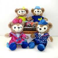 23 cm 4 unids/set Duffy oso Shelliemay Rose juguetes de peluche oso de peluche suave animales de peluche para niños niñas niños regalos de cumpleaños