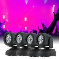 Dj luz led láser luces de Navidad luz principal móvil lavado efecto Stage lámpara apoyo Activación de sonido luz del Disco