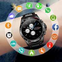 SANDA inteligente reloj de los hombres de la marca de lujo de deporte estilo muñeca relojes para hombres reloj hombre reloj de pulsera de cuero genuino correa de reloj inteligente