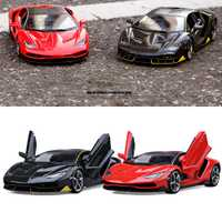 Lamborghini LP770-4 deportes coche modelo a escala 1:18 de aleación de coche de juguete de decoración del hogar