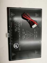 Funssor reprap prusa I3 MK3 300*200*3mm aluminio cama calentada con conector y cable y NTC100 /termistor