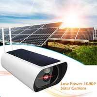 1080 P Solar cámara IP cámara de visión nocturna Monitor Webcam inteligente apoyo automáticamente interruptor día y Dight modo