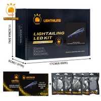 LIGHTAILING Kit de luz LED para Star Wars destructor estelar bloques de construcción conjunto de luz Compatible con 10221 y 05028
