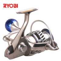 Pesca RYOBI rey III 6000 8000 tamaño 6 + 1 BB carretes 5,0: 1 Drag power 10 kg carpa Weeve alimentador Carretilha Para Pesca pescados