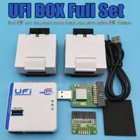 RUIAO UFI caja UFi caja potente EMMC servicio herramienta leer EMMC los datos del usuario, reparación, cambio de tamaño, formato, borrar, escribir firmware EMMC