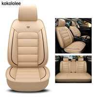Kokololee pu siège de voiture en cuir couverture Pour bmw e60 f11 kia rio 3 4 honda accord 2003-2007 suzuki jimny voiture style accessoires de voiture